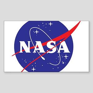 NASA Logo Sticker (Rectangle)