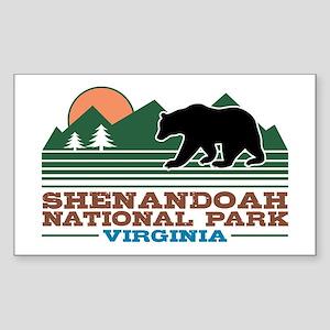 Shenandoah National Park Sticker (Rectangle)