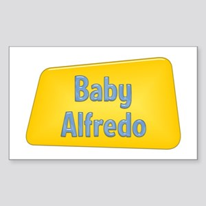 Baby Alfredo Rectangle Sticker