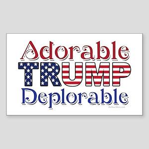 Adorable Trump Deplorable Sticker