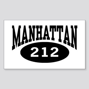 Manhattan 212 Rectangle Sticker