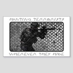 WHEREVER THEY HIDE Sticker (Rectangle)