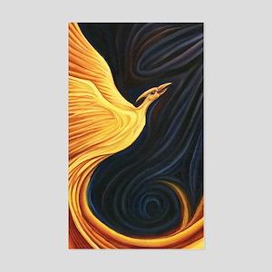 Phoenix Rising Sticker (Rectangle)