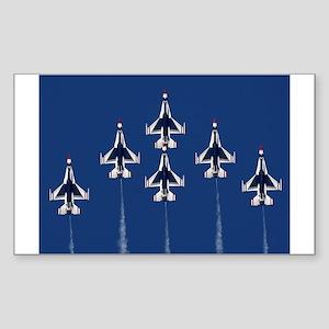 USAF Thunberbirds Rectangle Sticker