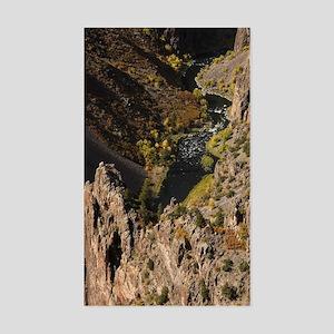Black Canyon Sticker (Rectangle)