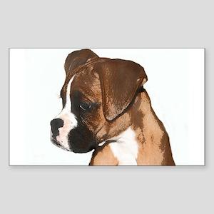 Boxer Dog Sticker (Rectangle)