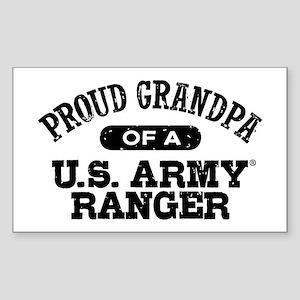 Army Ranger Grandpa Sticker (Rectangle)