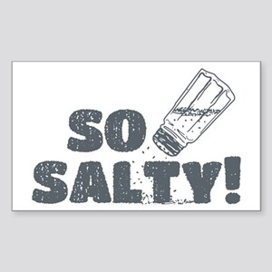 So Salty Sticker (Rectangle)