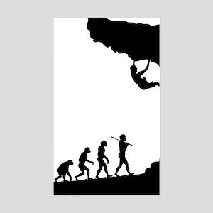Rock Climbing 9 Sticker (Rectangle)