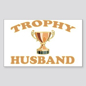 TROPHYHUSBAND Sticker (Rectangle)