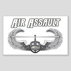 Army Air Assault Rectangle Sticker