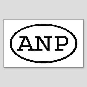 ANP Oval Rectangle Sticker