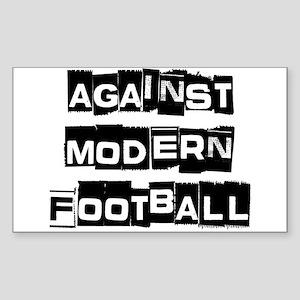 Against Modern Football Sticker
