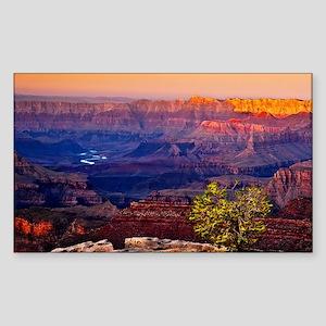 Grand Canyon Sunset Sticker (Rectangle)