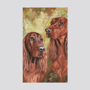 Irish Setter_CB Sticker (Rectangle)