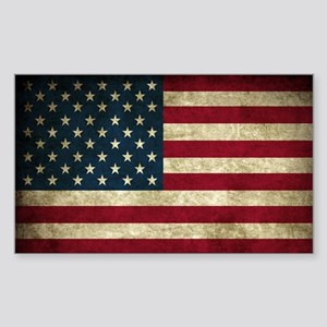 USA Flag - Grunge Sticker