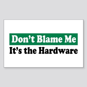 It's the Hardware Rectangle Sticker