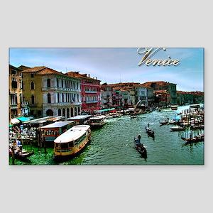 Venice - Grand Canal Sticker (Rectangle)