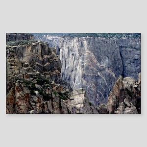 Colorado Black Canyon 2 Sticker (Rectangle)