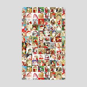 Many Many Santas Sticker (Rectangle)