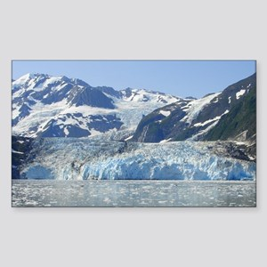 Where Glacier Meets Ocean Sticker (Rectangle)