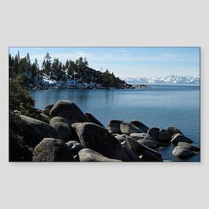 Lake Tahoe, Incline Village Sticker (Rectangle)