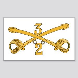 DUI - 2nd Squadron - 3rd ACR Sticker (Rectangle)