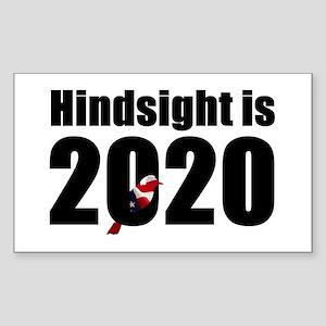 Hindsight is 2020 - Bernie Bird Sticker
