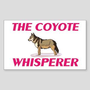 The Coyote Whisperer Sticker
