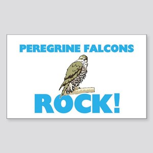 Peregrine Falcons rock! Sticker