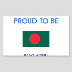 Proud to be Bangladeshi Sticker