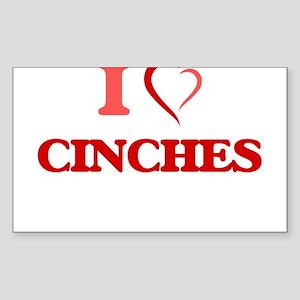 I love Cinches Sticker