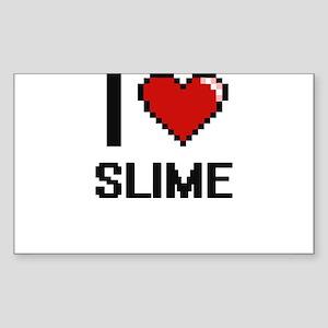 I love Slime Digital Design Sticker