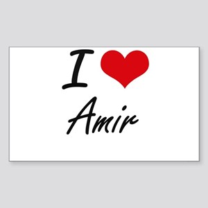 I Love Amir Sticker