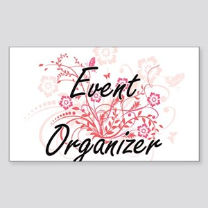 Event Organizer Artistic Job Design with F Sticker