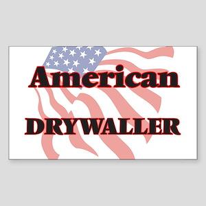 American Drywaller Sticker
