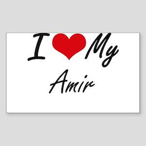I Love My Amir Sticker