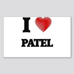 I Love Patel Sticker