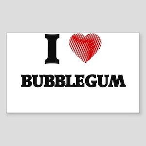 I love Bubblegum Sticker