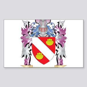Aguirre Coat of Arms (Family Crest) Sticker