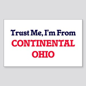 Trust Me, I'm from Continental Ohio Sticker