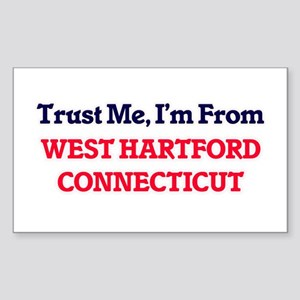Trust Me, I'm from West Hartford Connectic Sticker