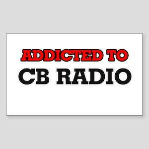 Addicted to Cb Radio Sticker