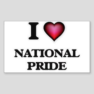 I Love National Pride Sticker