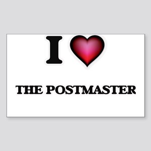 I love The Postmaster Sticker
