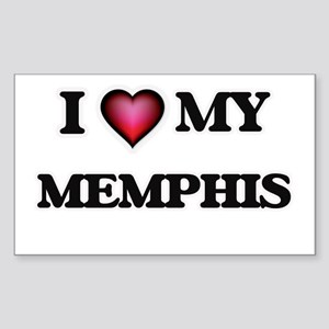 I love Memphis Sticker