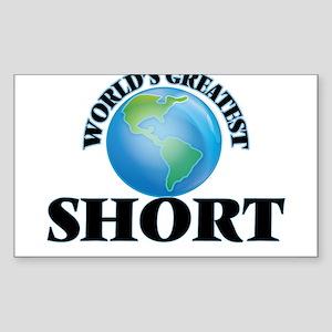 World's Greatest Short Sticker