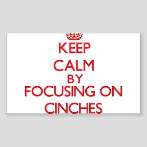 Cinches Sticker