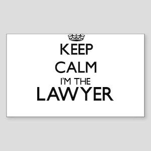 Keep calm I'm the Lawyer Sticker