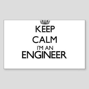 Keep calm I'm an Engineer Sticker